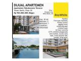 Dijual Apartemen Pakubuwono Terrace Jakarta Selatan - 2 Bedroom 39 m2 Full Furnished