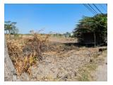 Jual Tanah Luas Strategis daerah Raya Bringkang Gresik