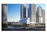 Dijual Apartemen Vasanta Innopark Cibitung Bekasi - 1 BR Unfurnished