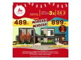 Rumah Harga 400 Jutaan, 3 kamar Tidur, Jalan Kaliurang Jogja