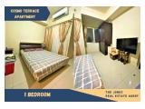 Dijual Apartemen Cosmo Terrace 1 Bedroom
