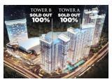 Jual Apartemen Transpark Cibubur Depok - Tipe Studio Tower Crystalline