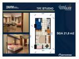 Dijual Apartemen Grand Sentraland Karawang - Type Studio
