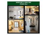 Launching!! Tower Baru Apartemen Sky House BSD Tangerang - Tipe Studio, 1 BR, 2 BR Semi Furnished