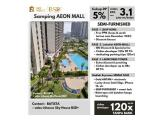 Dijual Apartemen Sky House BSD - Tangerang DP 5% (Samping AEON Mall + Seberang The Breeze + Seberang ICE BSD) - Semi Furnish